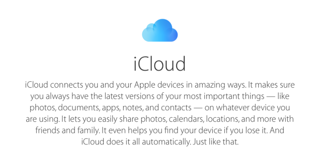 This is the natural progression of the current social aspects of iCloud