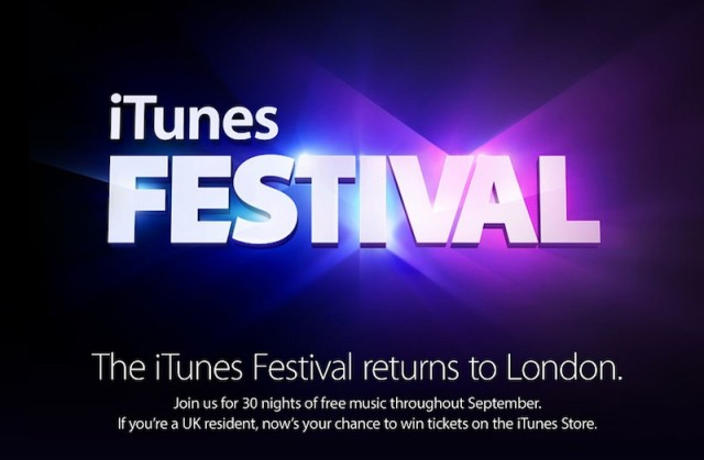 iTunes Festival in London has been a thing for a while now. Why London?